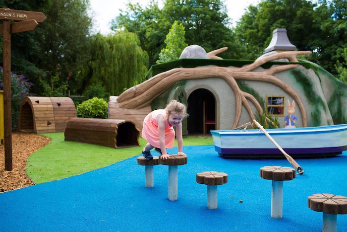 parque temático Peter Rabbit Adventure en Inglaterra