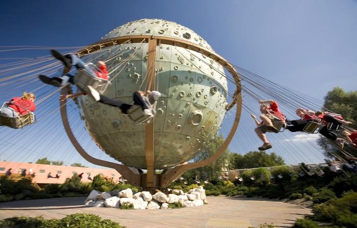 Parque temático Slagharen en Holanda