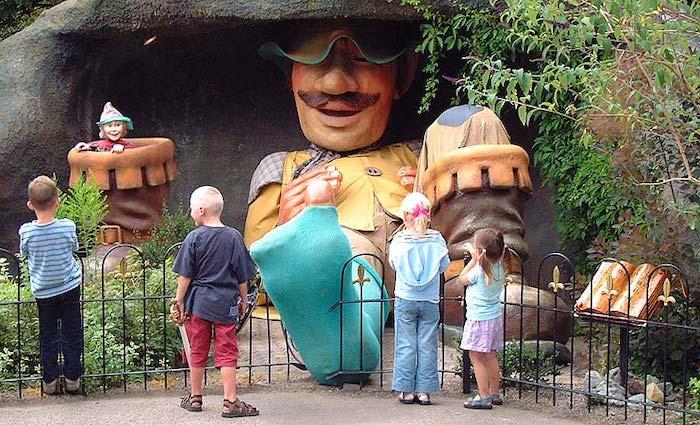 Parque temático Sprookjeswonderland en Holanda para ir con niños
