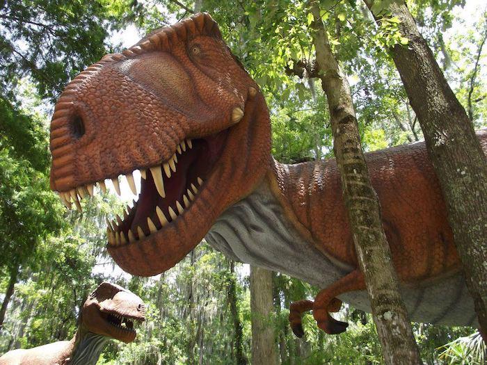 parque temático de dinosaurios Dinosaur World Florida en Tampa