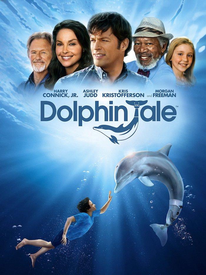 Película de Winter el delfín rodada en el acuario Clearwater Marine Aquarium de Florida