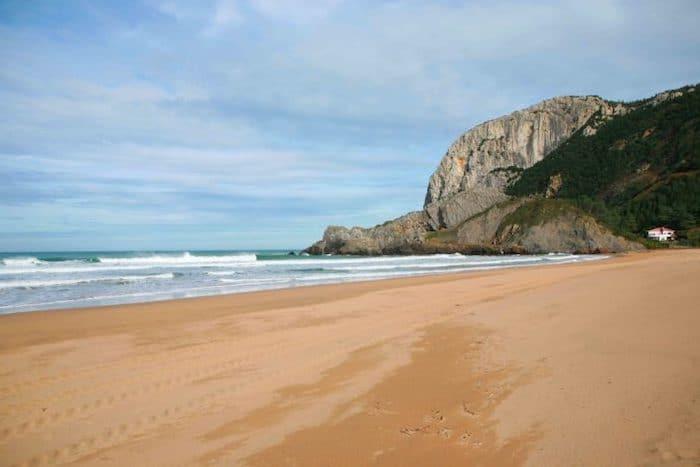 Playas de Urdaibai en Vizcaya