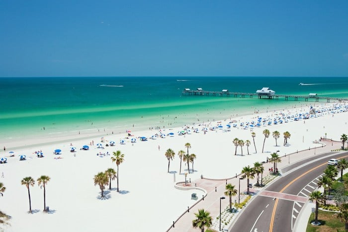 Playa de Clearwater ideal para familias
