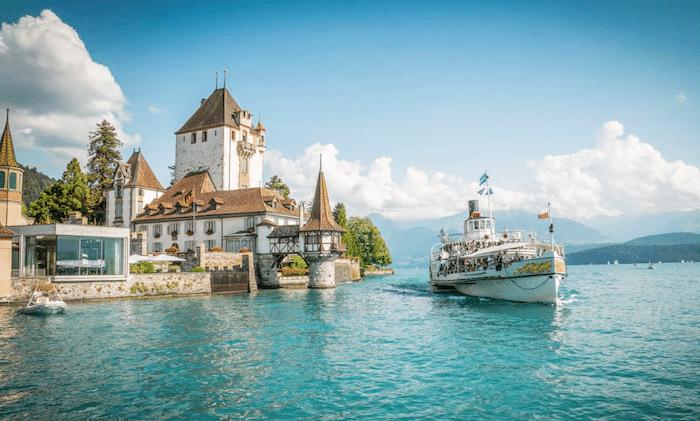 Crucero por los lagos Thun y Brienz de Suiza