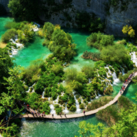 Parque Nacional de los Lagos de Plitvice en Croacia