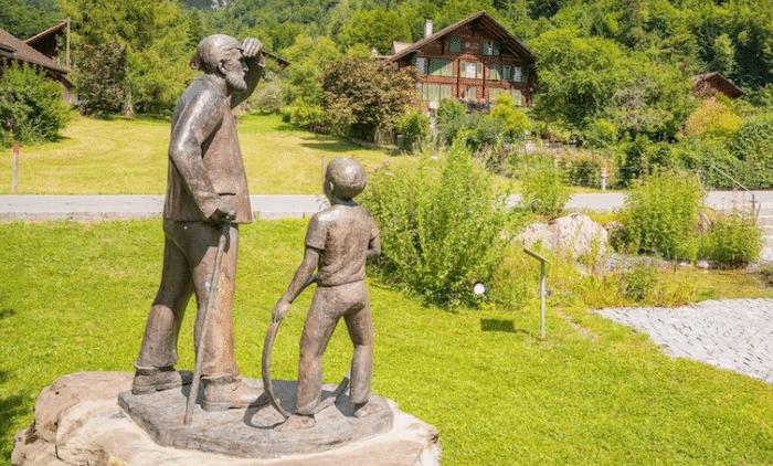 Senderismo con niños en Interlaken