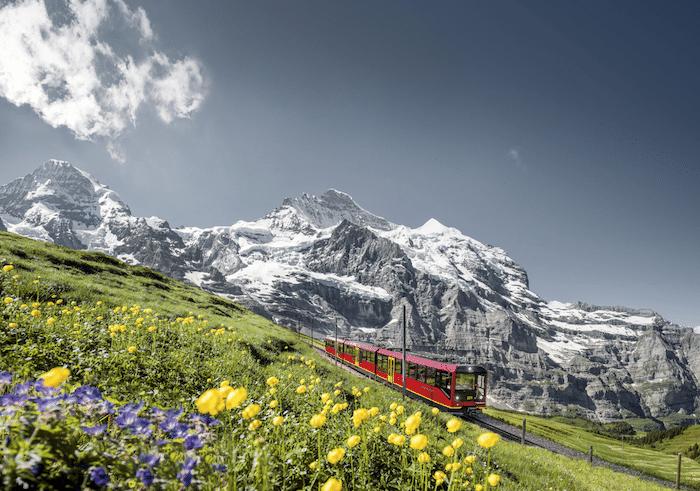 región montañosa del Jungfrau-Aletsch