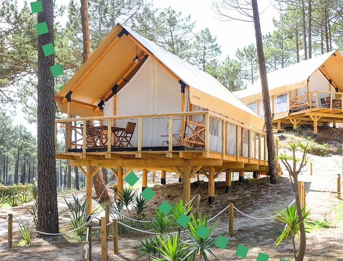 Glamping familiar de lujo en Portugal