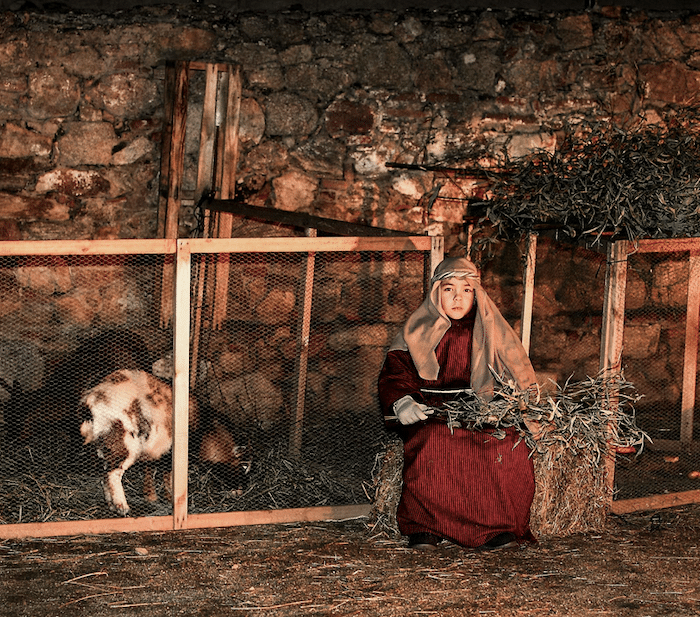 Belén Viviente en Buitrago del Lozoya