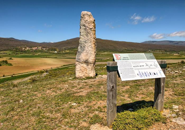 Ruta de los Menhires de Valdeolea en Cantabria
