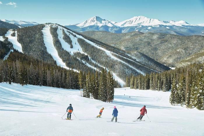 Esquiar con niños en Keystone, Colorado