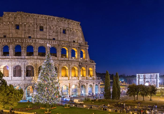 Navidad en Roma con niños