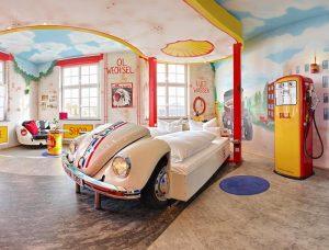 Hotel temático de coches en Alemania