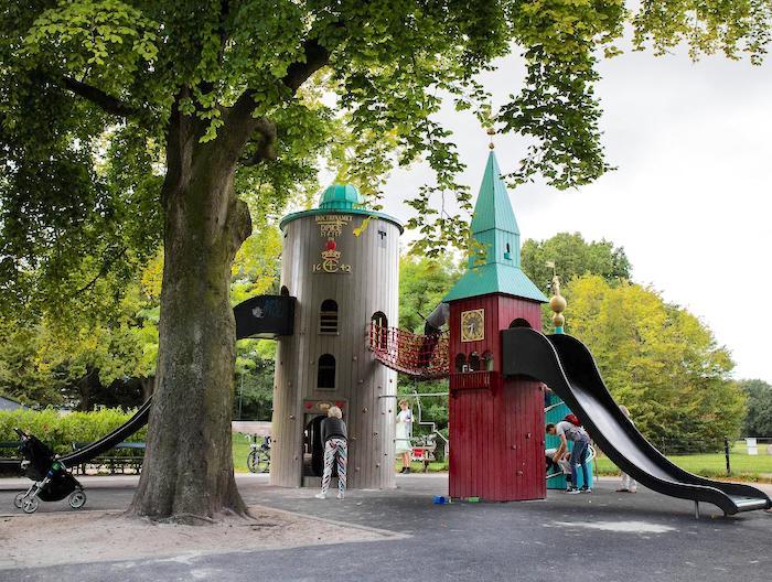 Copenhague con niños en verano