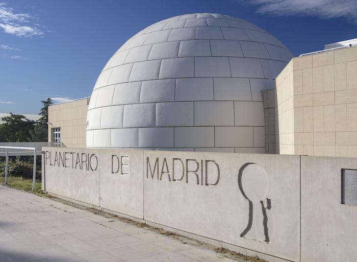 Planetario de Madrid con niños